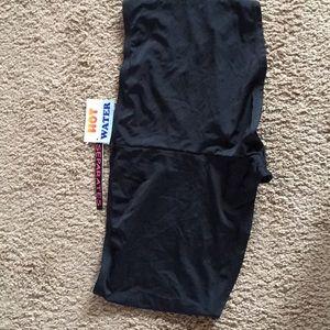 New Women's Plus Size 2X Black Color Swim Bottom